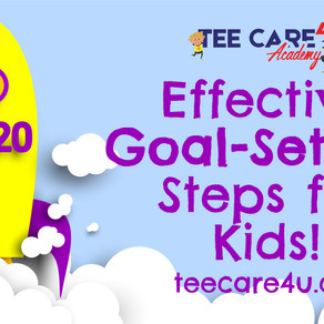 Effective 2020 Goal-Setting Steps for Kids!