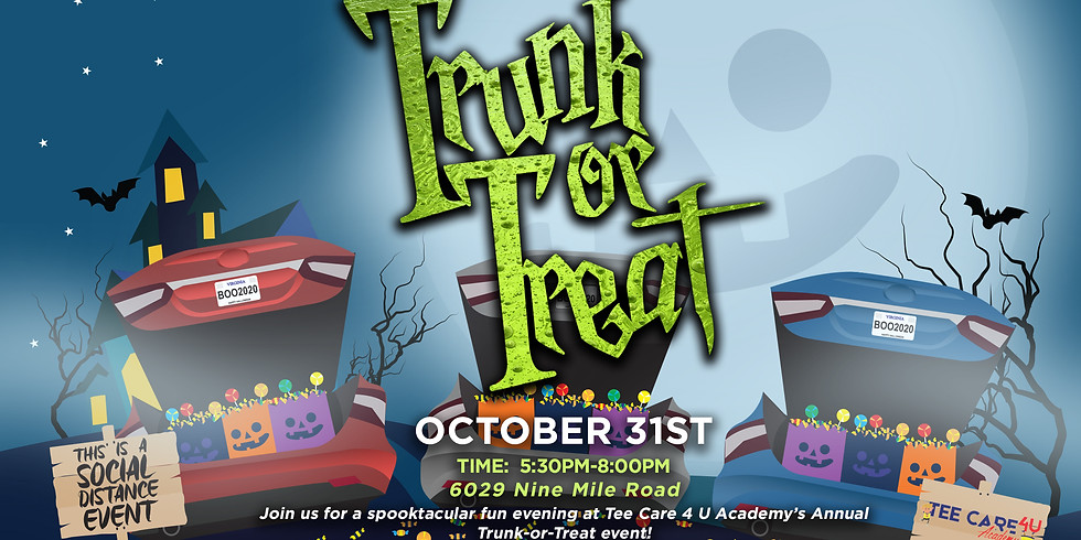 2020 TRUNK OR TREAT SPOOKTACULAR EVENT!
