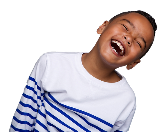 TEE CARE 4U ACADEMY - Young African American boy laughing