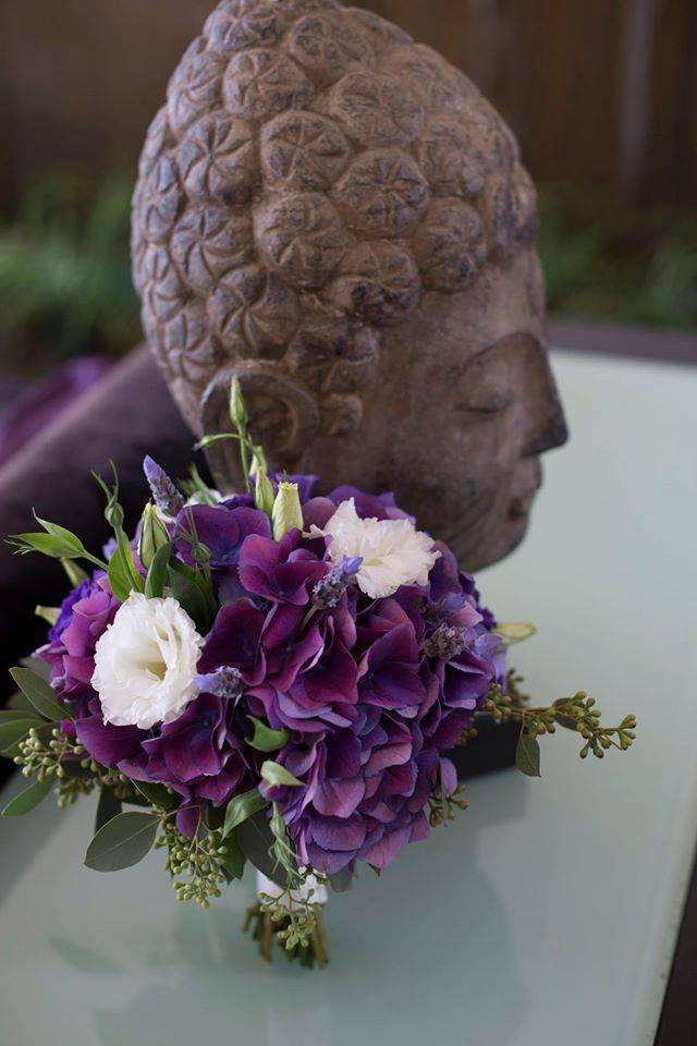 Purple Calla Lilie Bouquet