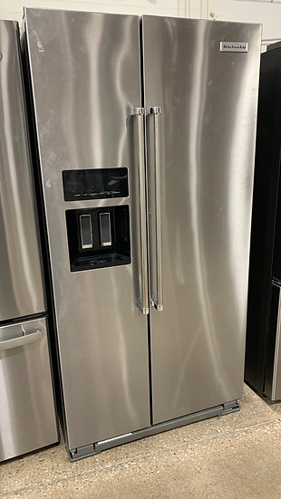 Kitchenaid 22.6 CF Counter Depth Side By Side Refrigerator SS- 70316