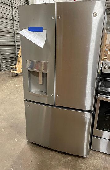 GE 27.8 CF French Door Refrigerator SS- 1234 (7572 202)