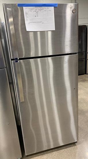 GE 17.5 CF Top Freezer Refrigerator SS- 95819