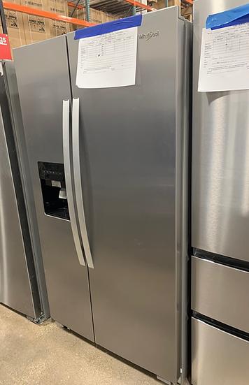 Whirlpool 25 CF Side By Side Refrigerator SS- 77609