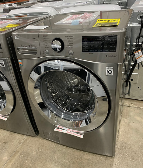 LG 4.5 CF Ultra Large Front Load Washer Graphite-80589