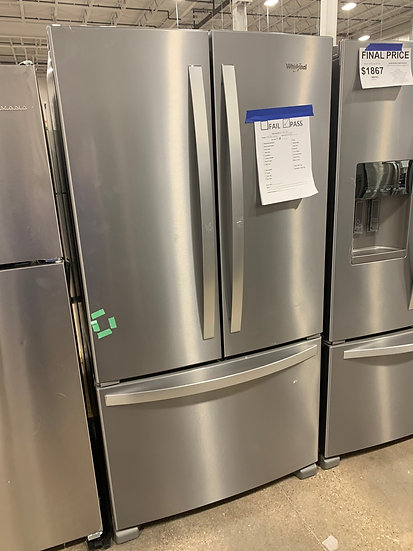 Whirlpool 20 CF French Door Refrigerator SS- 68432