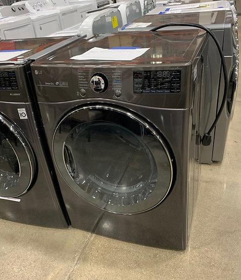 LG 7.4 CF Electric Dryer Black SS- 69893