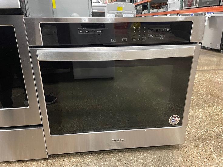 Whirlpool 5 CF Single Wall Oven SS- 15825