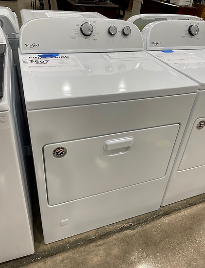 Whirlpool 7 CF Gas Dryer White- 21620