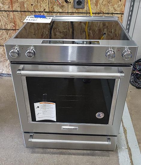 Kitchenaid 7.1 CF Electric Slide In Range SS- 24428