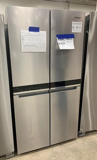 Whirlpool 19.4 CF Counter Depth 4 Door Refrigerator SS- 89717