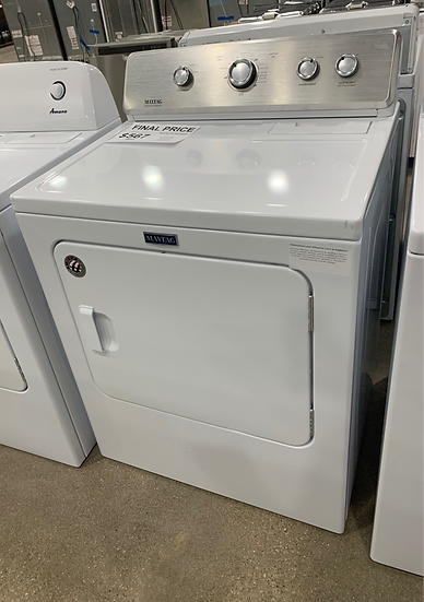 Maytag 7 CF Large Capacity Electric Dryer White- 91541