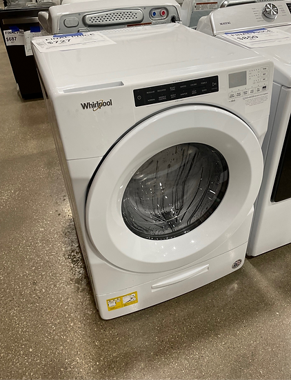 Whirlpool 4.5 CF Front Load Washer White- 17074