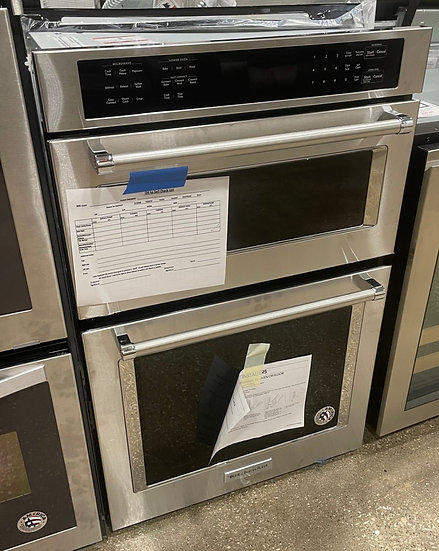 Kitchenaid 5.7 CF Electric Combination Wall Oven SS- 21159