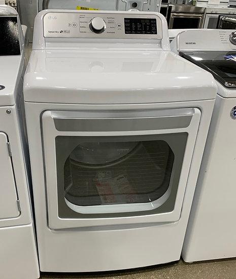 LG 7.3 CF Electric Dryer White- 84662