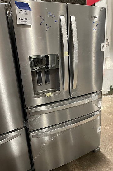 Whirlpool 25 CF French Door Refrigerator SS- KA0515829 (14074 142