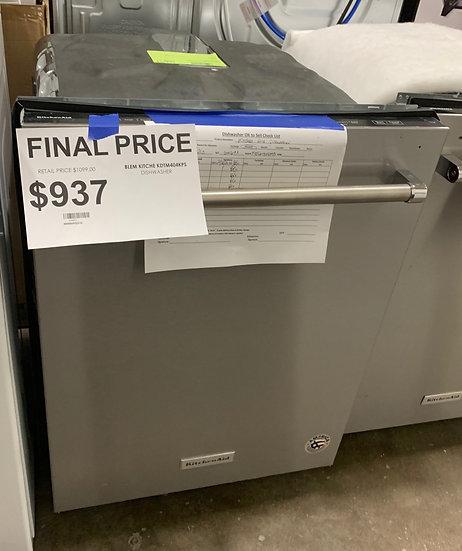 Kitchenaid 44 dBA Dishwasher SS- 65693