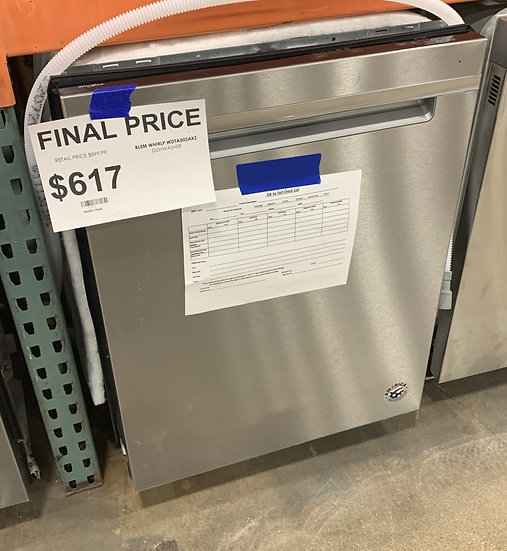Whirlpool Large Capacity Dishwasher SS- 91711
