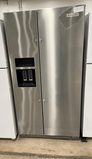 Kitchenaid 24.8 CF Side By Side Refrigerator SS- 17723