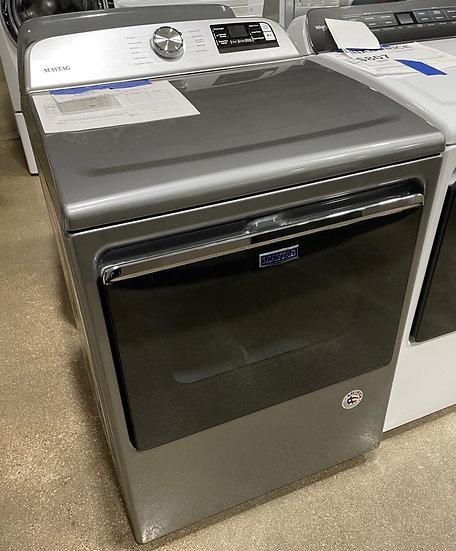 Maytag 7.4 CF Electric Dryer Metallic Slate- 0