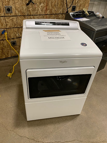 Whirlpool 7.4 CF Gas Dryer White- 75137