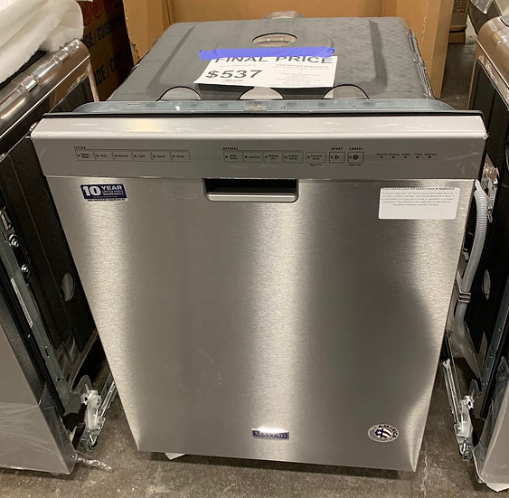 Maytag Front Control Dishwasher SS- 92582