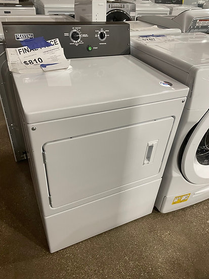 Maytag 7.4 CF Commercial Grade Residential Dryer White- 75851
