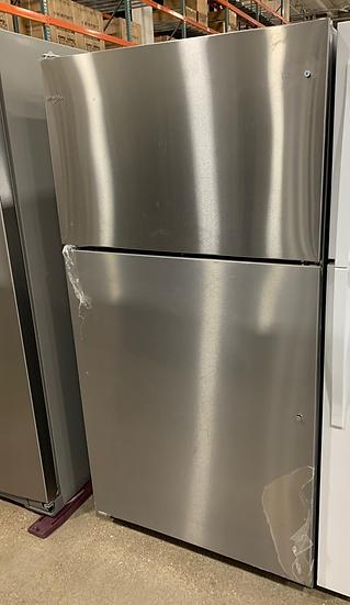 Whirlpool 20 CF Top Freezer Refrigerator SS- 06041