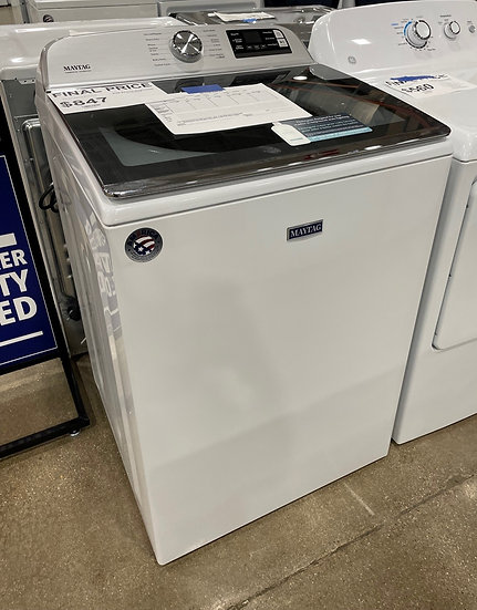 Maytag 5.3 CF Top Load Washer White- 29250
