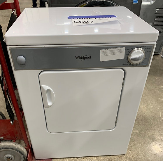 Whirlpool 3.4 CF Electric Dryer White- 92587