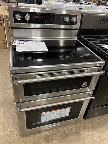 Kitchenaid 6.7 CF Double Oven Convection Range SS- 00296