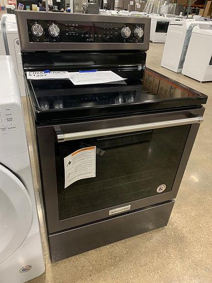 Kitchenaid 6.4 CF Electric Range Black- 3601