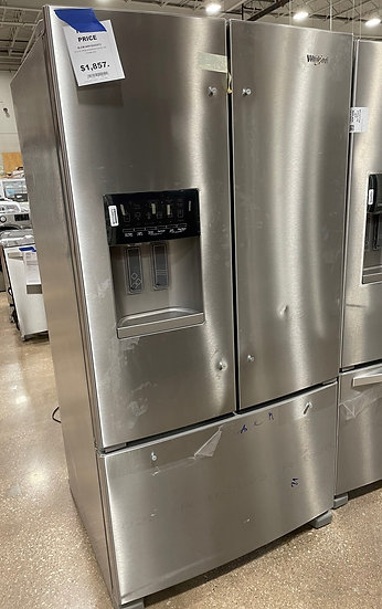 Whirlpool 25 CF French Door Refrigerator SS- KA1813906 (14094 122)