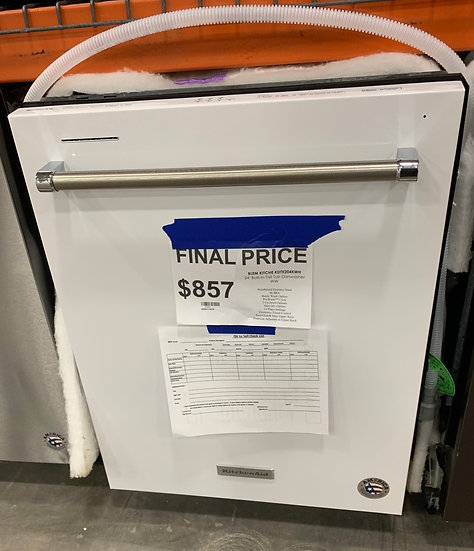 Kitchenaid Built in Tall Tub Dishwasher White- 89695