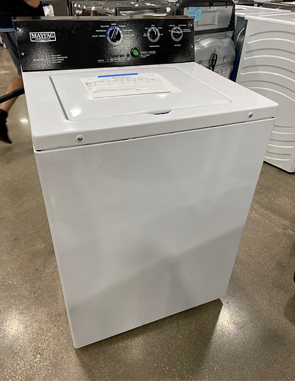 Maytag 3.5 CF Commercial Washer White- 0000