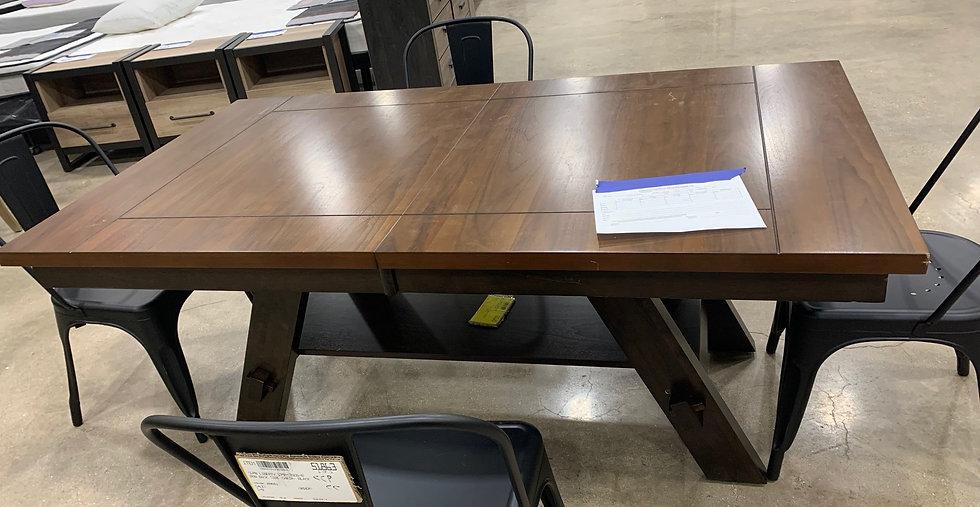 Liberty Pedestal Table Base And Top- 55185 2185