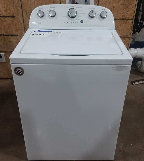 Whirlpool 4.3 CF Top Load Washer White- 28086