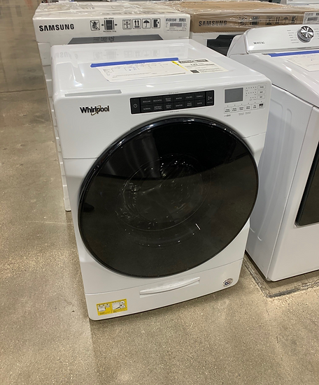 Whirlpool 4.5 CF Front Load Washer White- 61121