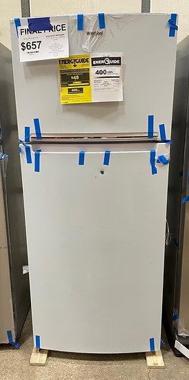 Whirlpool 18 CF Top Freezer Refrigerator White- 28143