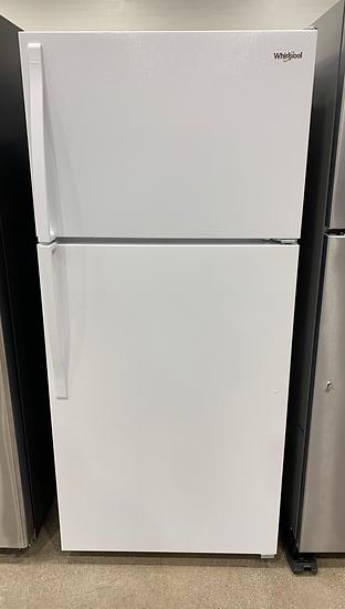 Whirlpool 14 CF Top Freezer Refrigerator White- 06048