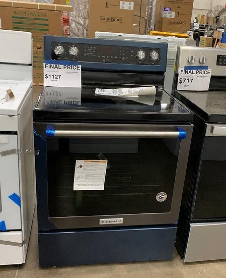 Kitchenaid 6.4 CF Electric Range Black- 58885