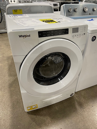 Whirlpool 4.5 CF Closet Depth Front Load Washer White- 28137