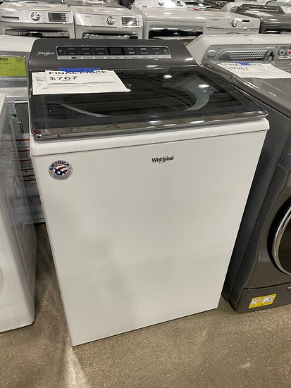 Whirlpool 5.3 CF Top Load Washer White- 17004