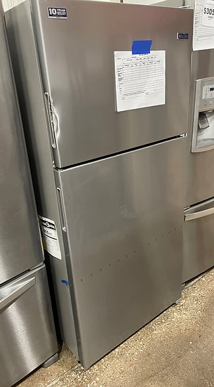 Maytag 18 CF Top Freezer Refrigerator SS- 15837