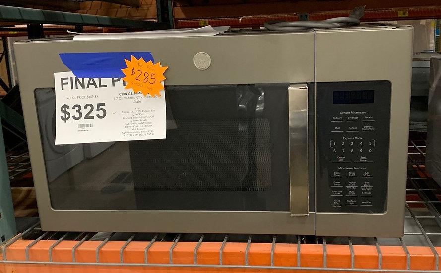 GE 1.7 CF Vented OTR Microwave Slate- 15891