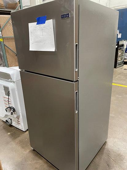 Maytag 18 CF Top Freezer Refrigerator SS- 1234 (16777 16)