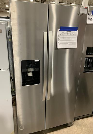 Whirlpool 25 CF Side By Side Refrigerator SS- 83896