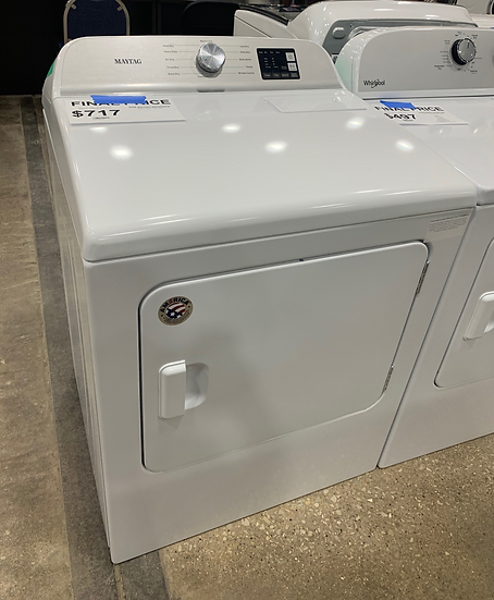 Maytag 7 CF Electric Dryer White- 1252
