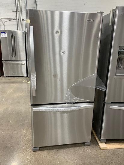 Whirlpool 21.9 CF Single Door Bottom Freezer White- 65718
