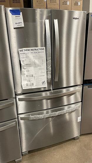 Whirlpool 25 CF French Door Refrigerator SS- KA2508734 (14074 111)